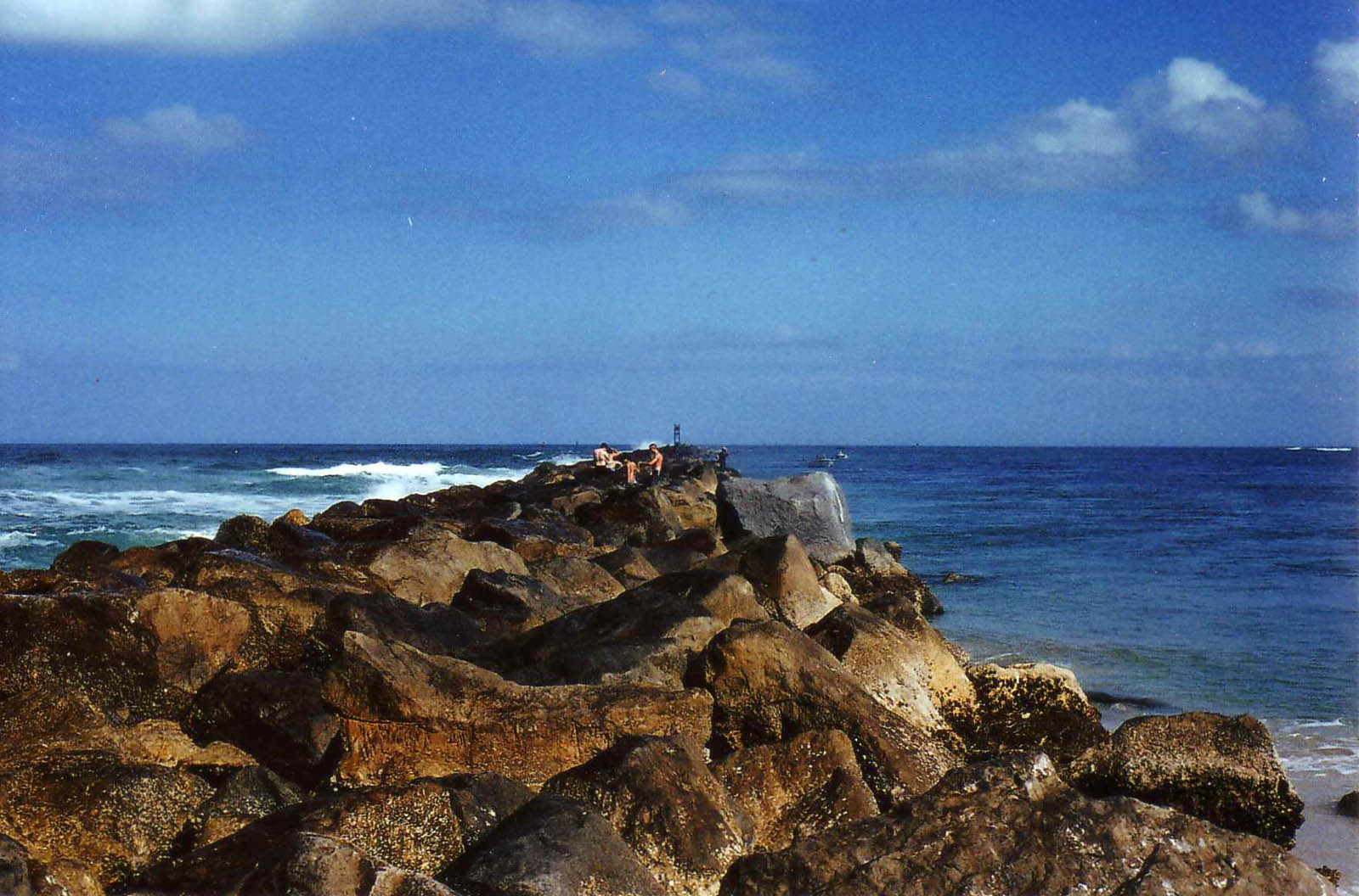 Ponce Inlet rocks